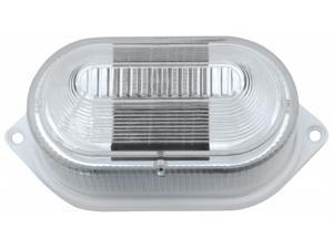 Northern International GL23901WH2 White Plastic Multi Purpose Solar LED Light 2