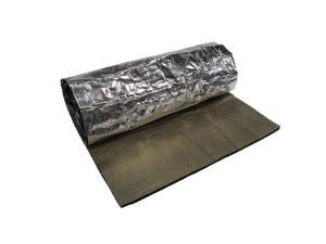 Heatshield 800101 Hp Felt Shield Hd Heat Shield Proprietary Data Silver, Aluminum And Black, 0.12 in. Thick 24 x 53 in.