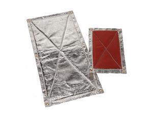 Heatshield 903624 Hp Floor Heat Shield Proprietary Data Silver, Aluminum, 24 x 36 in.