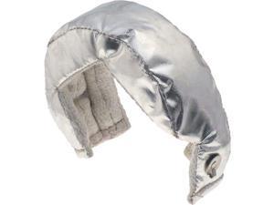 Heatshield 300008 Hp Turbo Heat Shield Proprietary Data Silver, Aluminum, T2 Flange Turbos
