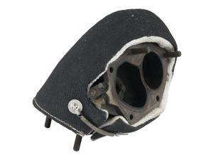 Heatshield 300548 Stealth Turbo Heat Shield Proprietary Data Black, T2 Flange Turbos