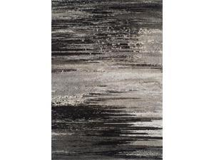Dalyn MG5993PE3X5 3 ft. 3 in. x 5 ft. 3 in. Modern Greys Pewter Area Rug