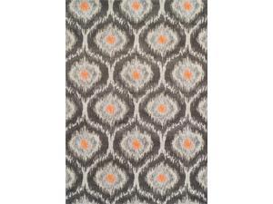 Dalyn MG360PE3X5 3 ft. 3 in. x 5 ft. 3 in. Modern Greys Pewter Area Rug