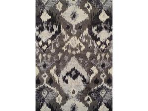 Dalyn MG525PE3X5 3 ft. 3 in. x 5 ft. 3 in. Modern Greys Pewter Area Rug