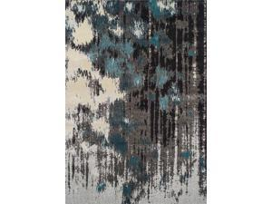 Dalyn MG81TE3X5 3 ft. 3 in. x 5 ft. 3 in. Modern Greys Teal Area Rug