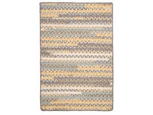 Colonial Mills PY39R096X132B Print Party - Shaded Yellow 8 ft. x11 ft.  Rug