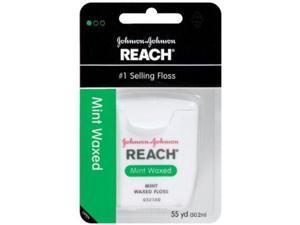 Reach JJ-009217-6 Dental Floss, Mint Waxed -6 per Case