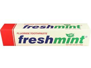 Freshmint NWI-TP46-60 Freshmint Toothpaste 4.6 Oz Individually Boxed, Case Of 60