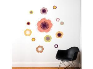 SPOT by ADzif S3339A07 Solstice Flowers, Wall Decal Color Print