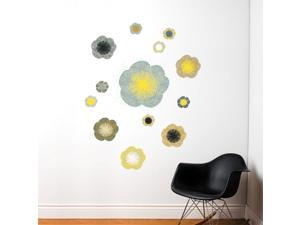 SPOT by ADzif S3339A14 Solstice Flowers, Wall Decal Color Print
