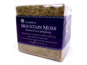 Super Moss 23820 1.5 Lbs Bale Sphagnum Mountain Moss