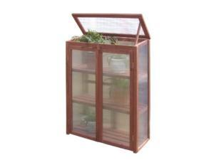 Leisure Season MG6116 Mini Greenhouse- Brown
