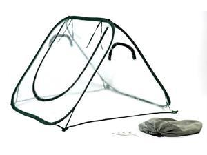 Flowerhouse FHSD100CL 3 in. X 4 in. X 4 in. Easy Pop Up Seedhouse Clear Greenhouse