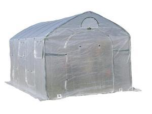 Flowerhouse FHFH8915XL 8 in. X 9 in. X 15 in. Easy Pop Up FarmHouse Greenhouse