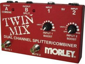 Morley TWIN MIX Dual Channel Mixer & Combiner Pedal