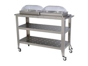 Broil King WBC-4RT Grand Size Buffet Carts with Roll-Top Lids