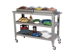 Broil King WBC-5SP Grand Size Buffet Carts with Clear Lids