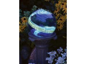 Echo Valley 8440 4 in. Blue Swirl Illuminaire Gazing Globe