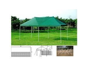 Gigatent GT 004 W The Party Tent 20 x 10 Canopy WHITE TOP