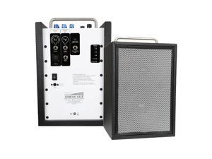 Sunburst Gear M3R8 M3R8 Three Channel Portable Bi-Amp Speaker System with Built-in Rechargeable Battery - each