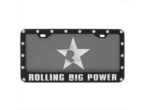 Pilot Automotive RBP-121 Rbp License Plate & Frame Combo - Black