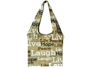 Bangalla Bags BG-1pce Bangalla Bags Live N Peace Everyday Bag