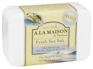 A La Maison 1419670 A La Maison Bar Soap - Fresh Sea Salt - 8.8 oz