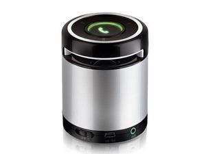 Supersonic SC-1361BT Portable Bluetooth Speaker Silver