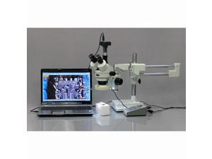 AmScope MU500-CK 5Mp Usb Microscope Camera, Software, Calibration Kit