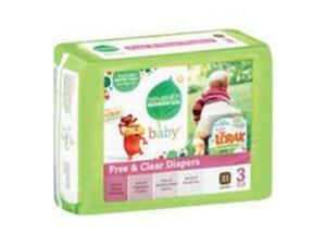 Seventh Generation 7 Gen Diapers Stage 3 31 Ct -Pack of 4