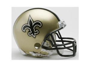Creative Sports RD-SAINTS-MR New Orleans Saints Riddell Mini Football Helmet