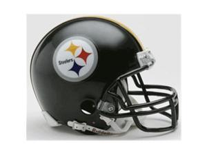 Creative Sports RD-STEELERS-MR Pittsburgh Steelers Riddell Mini Football Helmet