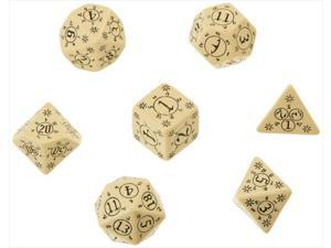 Q-Workshop SPAT18 Pathfinder Rise Runelords Dice Set 7