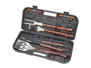 Cuisinart CGS-W13 13 Piece Wooden Handle Grilling Set