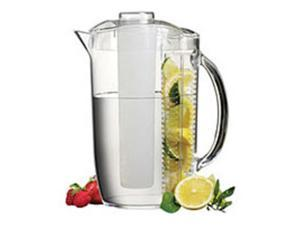 Prodyne Fi4 Acrylic Pitcher Ice N Fruit Infusion Combo Keeps