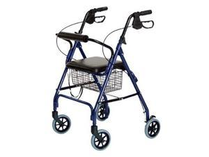 LUMEX ''RJ4300B'' Walkabout Lite Four-Wheel Rollator