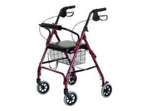 LUMEX ''RJ4300G'' Walkabout Lite Four-Wheel Rollator