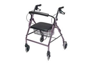 LUMEX ''RJ4318L'' Walkabout Wide Four-Wheel Rollator