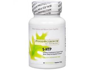 FoodScience of Vermont Anxiety  Stress & Sleep Support 5-HTP 90 capsules 219412