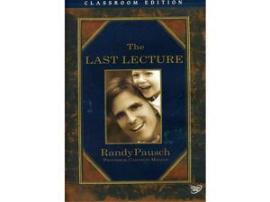 Disney Educational Productions 786936789171 Randy Pausch: The Last Lecture Classroom Edition - DVD