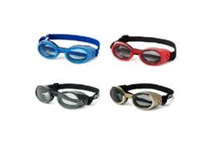 Doggles DODGILLG-16 Doggles - ILS Large Chrome Frame with Smoke Lens