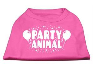 Mirage Pet Products 51-121 LGBPK Party Animal Screen Print Shirt Bright Pink Lg - 14