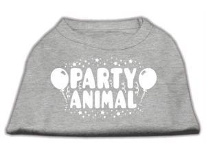 Mirage Pet Products 51-121 LGGY Party Animal Screen Print Shirt Grey Lg - 14