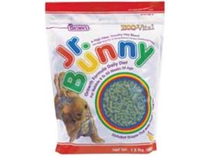 Brown S F. M. Sons Zoovital Jr Bunny Growth 1.5 Pounds - 44625