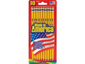 Cra-z-art Corporation 12001 10 Count No.2 Yellow Pre Sharpened Pencils
