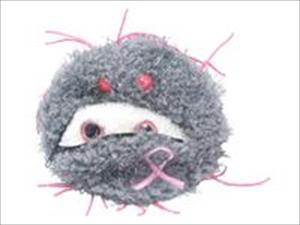 Giant Microbes S-PD-0104 Breast Cancer Plush Doll