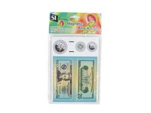 American Educational Products SI-10845 Magnetic Coin & Bill Set