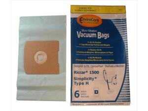 Riccar VFBU54242002 Type H Vacuum Bags For Simplicity