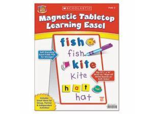 Scholastic Inc. SC989357 Magnetic Tabletop Learning Easel, Ages 4-7