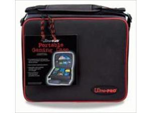 Ultra Pro 81127-2 Portable Zippered Gaming Case, Black